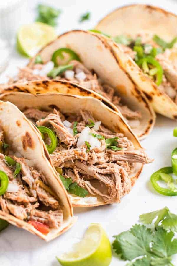 Easy Crock Pot Pork Carnitas Recipe Shugary Sweets