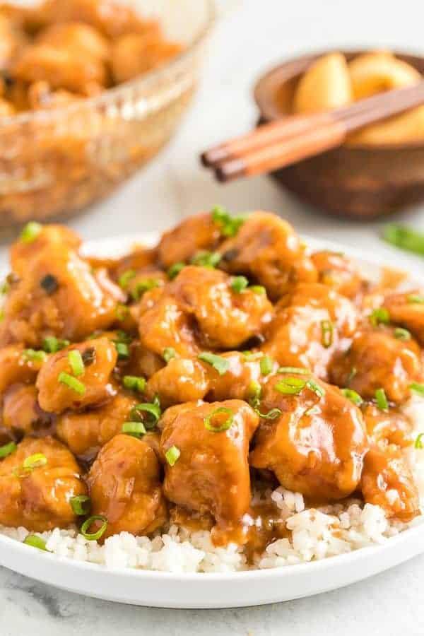Copycat Panda Express Orange Chicken Recipe Shugary Sweets