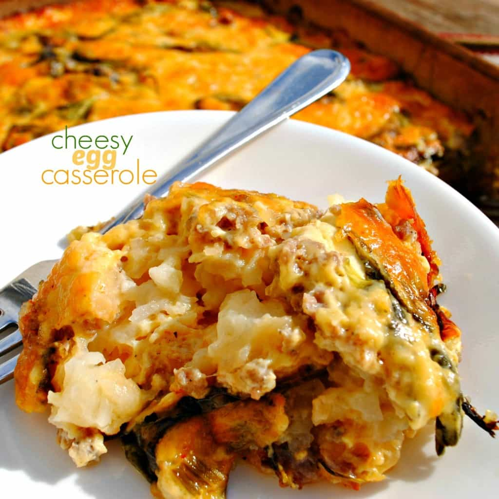 Overnight Egg Casserole: the perfect brunch dish!