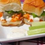 Buffalo Chicken with Homemade Blue Cheese