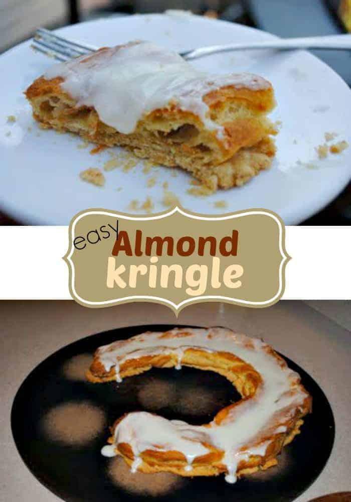 Kringles For Christmas.Almond Kringle