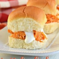Buffalo Chicken Sandwich Recipe with Homemade Blue Cheese Dressing
