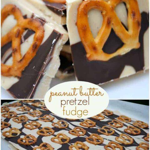 Peanut Butter Pretzel Fudge