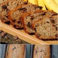 Oatmeal Banana Chocolate Chip Bread