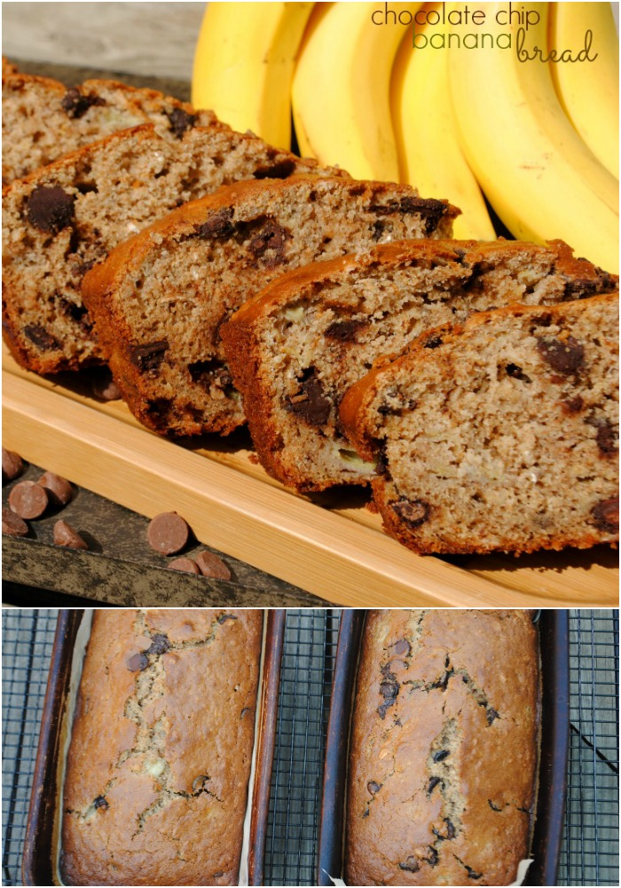 Chocolate Chip Banana Bread recipe: pure comfort food!