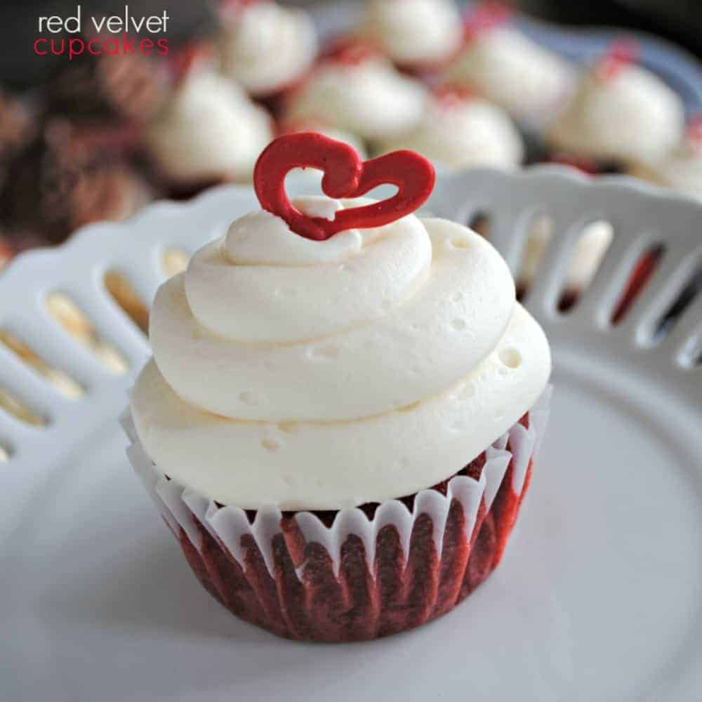 Red Velvet Cupcake recipe with Cream Cheese frosting