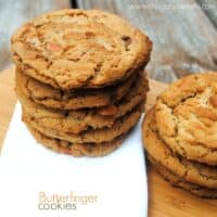 Peanut Butterfinger Cookies