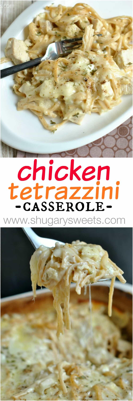 Chicken tetrazzini recipe collage of chicken tetrazzini forumfinder Image collections