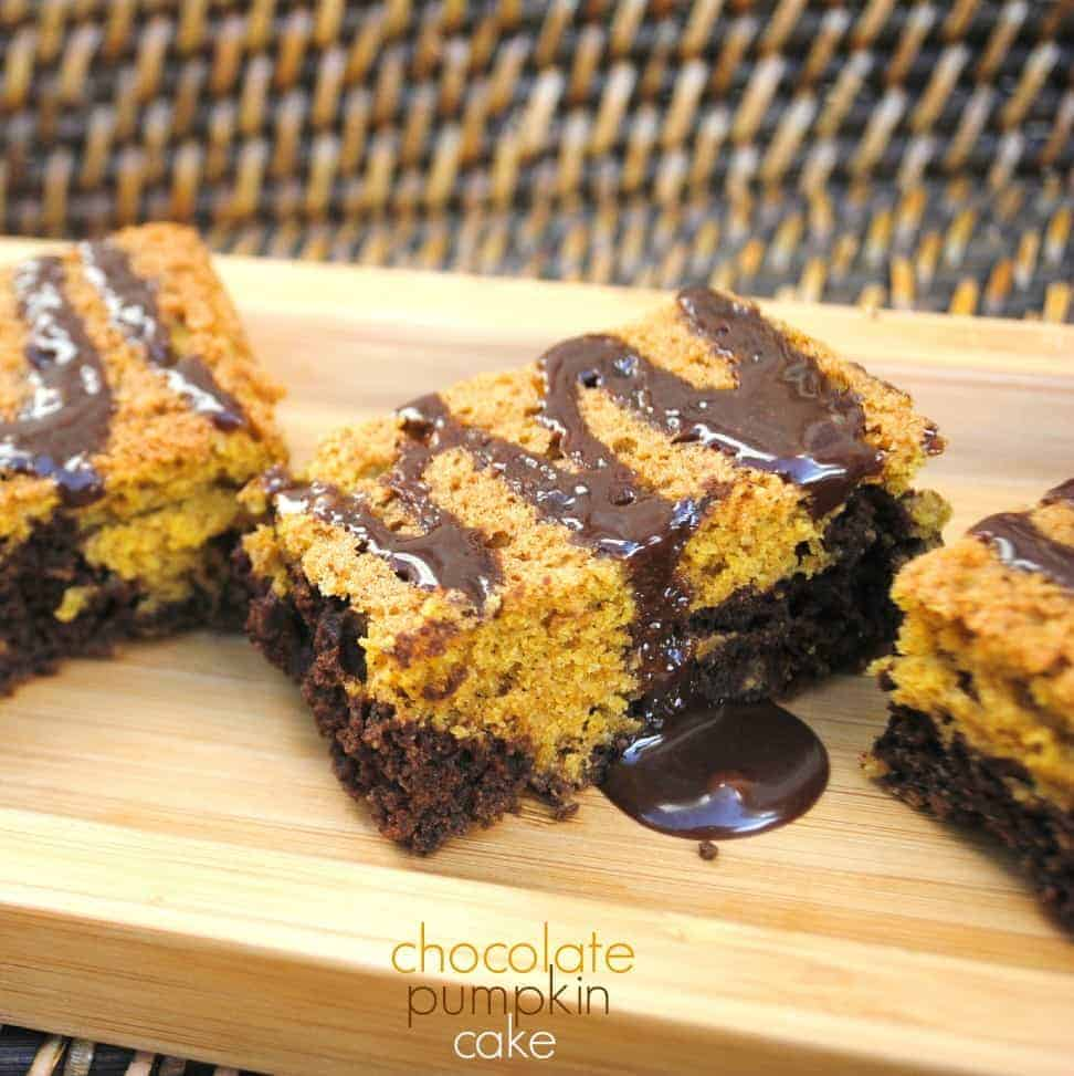 Pumpkin Nutella Snack Cake Recipe — Dishmaps