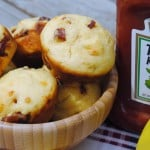 Corn Dog Muffins: from scratch corn muffins with hot dogs inside! Kid friendly!