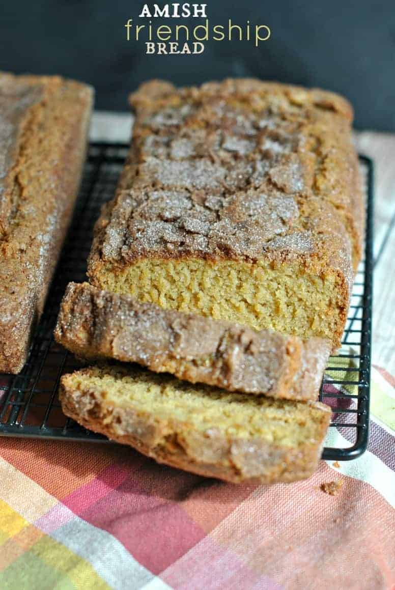 Amish Friendship Bread with starter recipe! Come bake some bread and ...