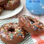 Chocolate Donuts (Baked!)