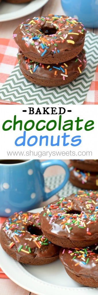 Baked Chocolate Donuts: ready on your breakfast table in 30 minutes or less!
