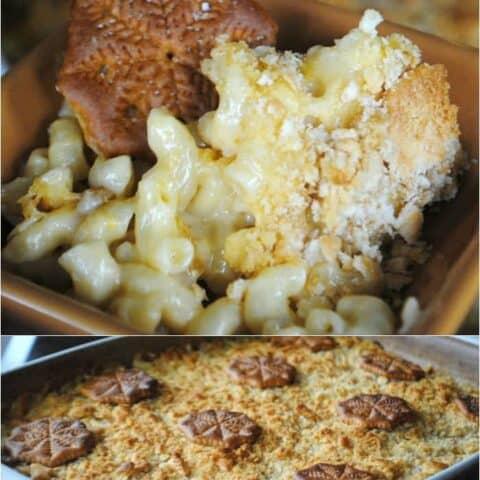 Ritz Cracker Mac and Cheese