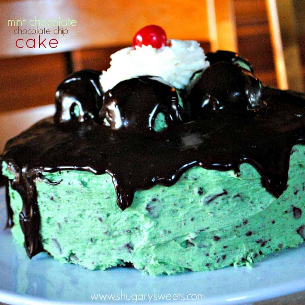 Mint Chocolate Chip Cake Mint Chocolate Chip Cake From