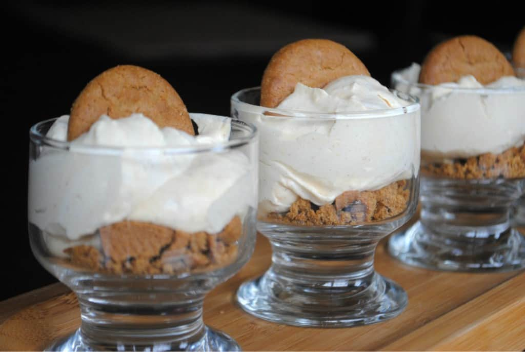 No Bake Pumpkin Cheesecake with Gingersnaps!