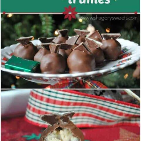 Andes Mint Cookie Dough Truffles