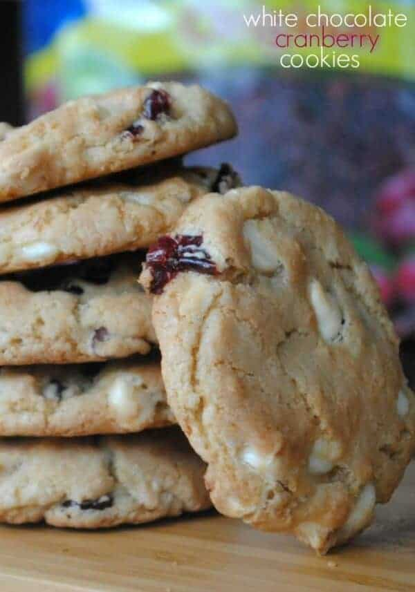 cranberry-white chocolate-cookies
