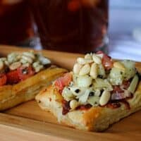 Puff Pastry Greek Appetizer