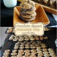 Chocolate Dipped Cookies
