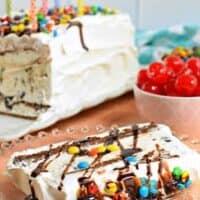Easy Homemade Ice Cream Cake Recipe