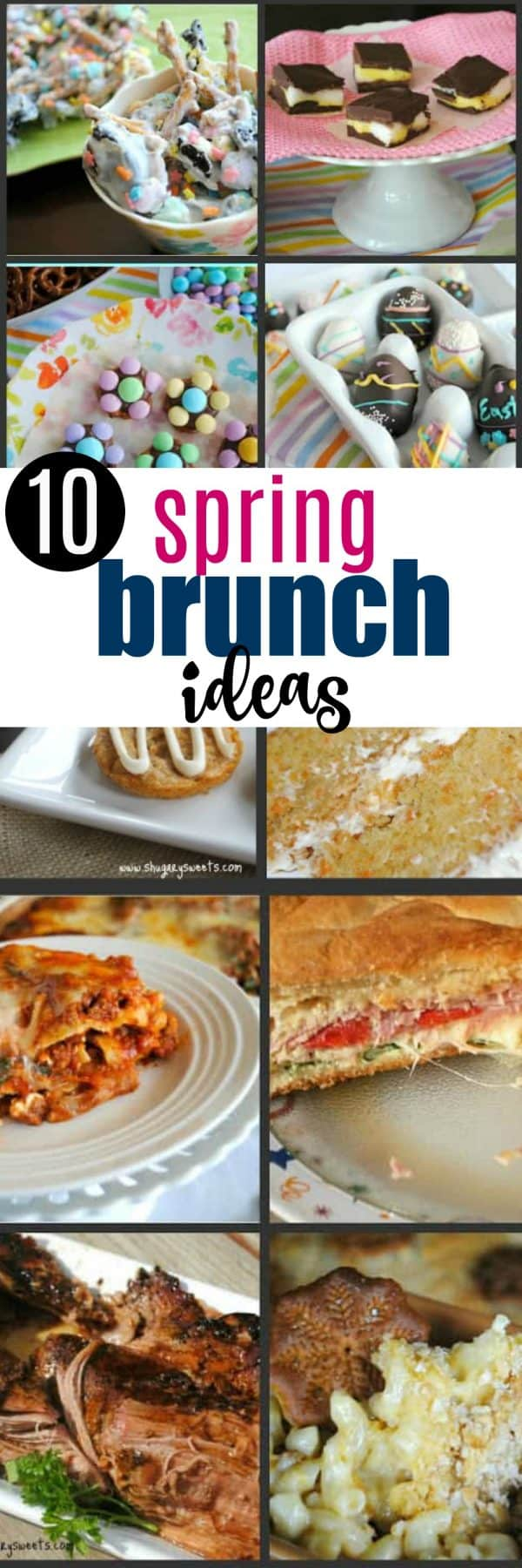 10 of the BEST Easter Ideas for your Brunch, Dinner, or Spring Dessert. Get the perfect recipe for your holiday party today!