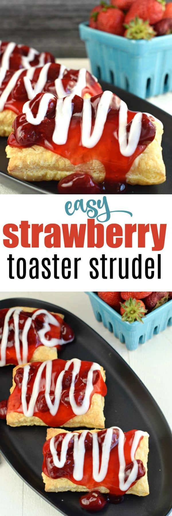 You're just minutes away from enjoying these delicious Easy Strawberry Strudel treats for breakfast or dessert!