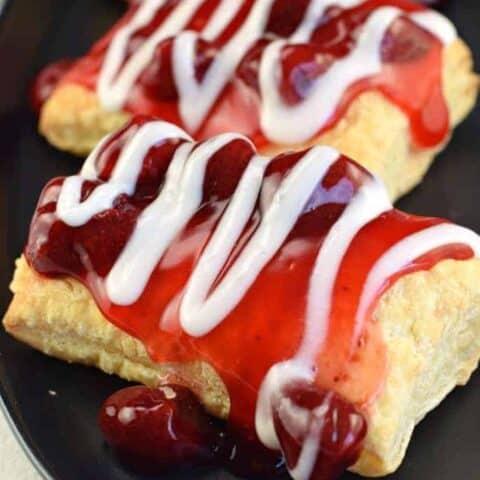 Strawberry Struedel