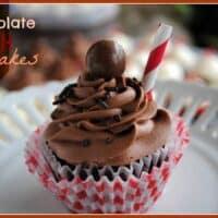 Chocolate Malt Cupcakes