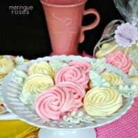 Meringue Roses {Mother's Day or Teachers Appreciation}