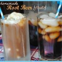 Homemade Root Beer (Floats)
