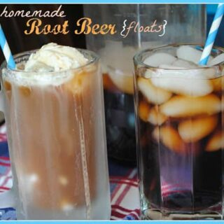 Homemade Root Beer Floats