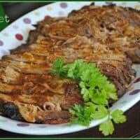 Slow Cooker BBQ Brisket