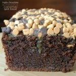 Triple Chocolate Caramel Butterscotch Bread