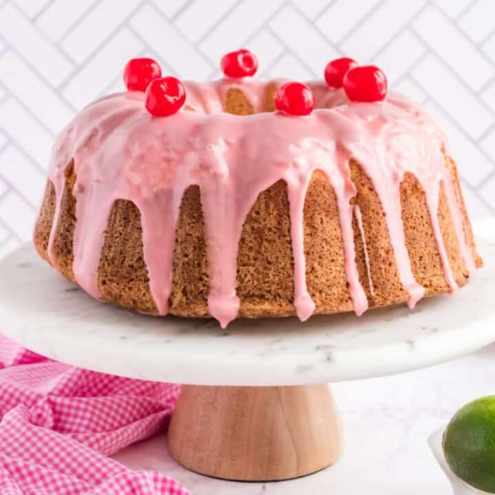 Cherry Margarita Pound Cake