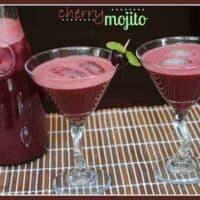 Cherry Mojitos