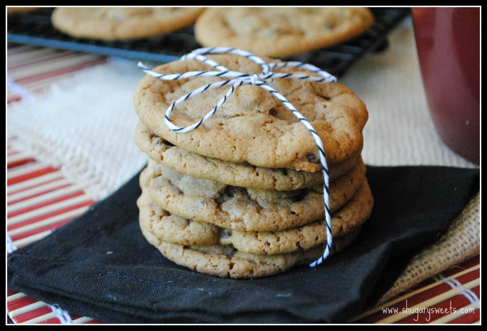 Maple Bacon Cookies: chewy delicious maple cookies with bacon pieces ...