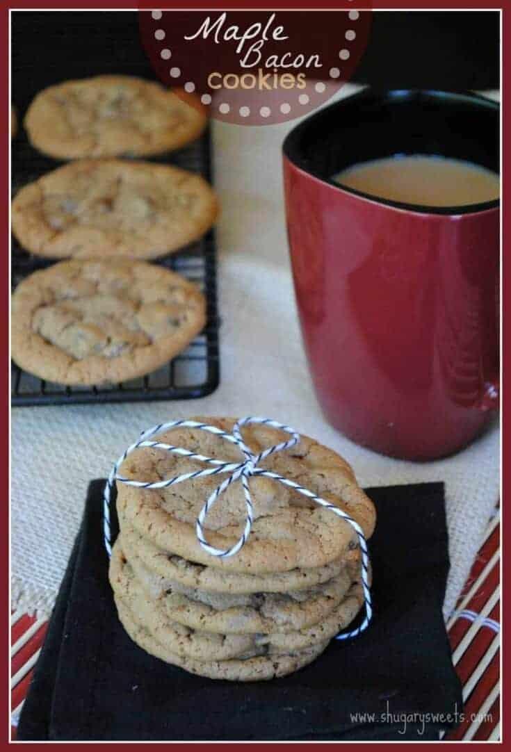 Shugary Sweets: Maple Bacon Cookies