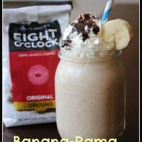 Banana Rama Coffee Milkshake