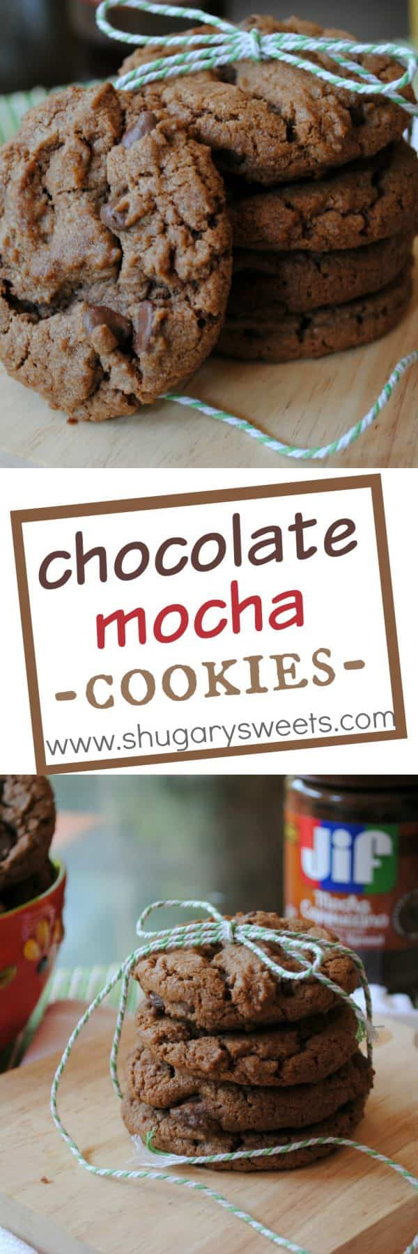 Chocolate Mocha Nutella Cookies: so rich and delicious you will want more!