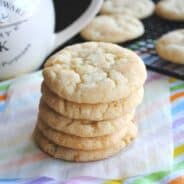 Vanilla Bean Snickerdoodles from www.shugarysweets.com