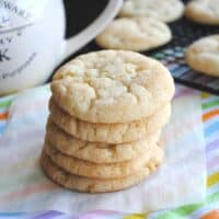 Soft and Chewy Vanilla Bean Snickerdoodles
