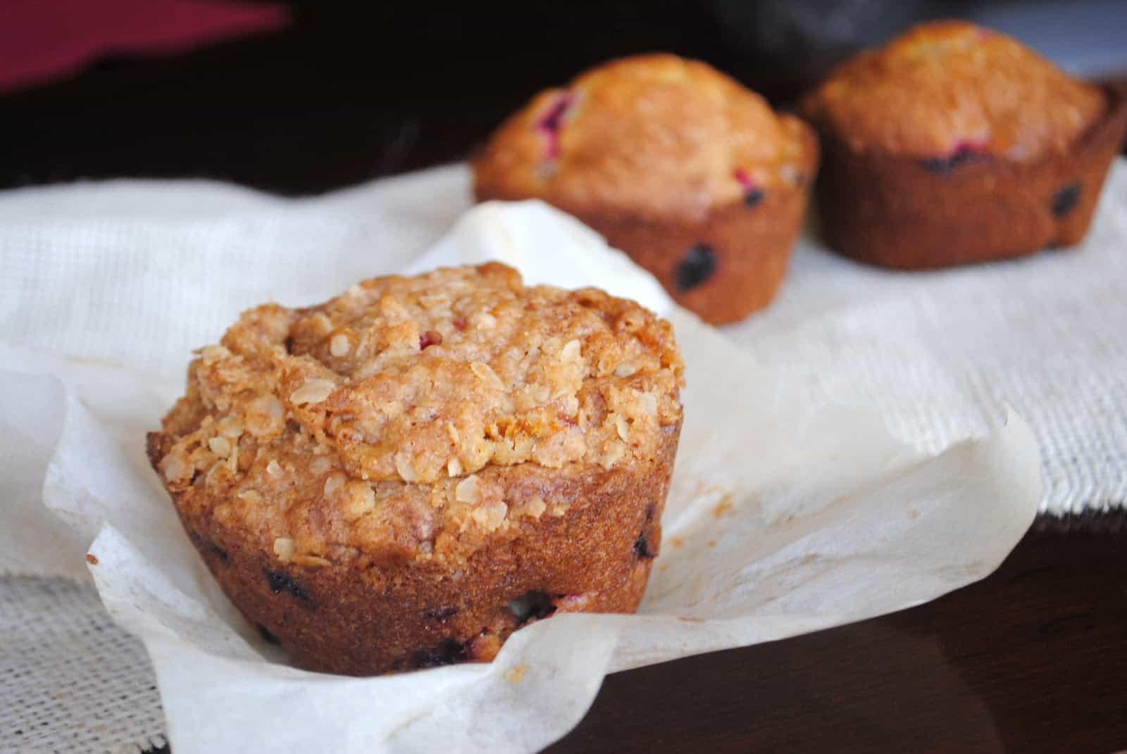 Cranberry Orange Muffins - Shugary Sweets