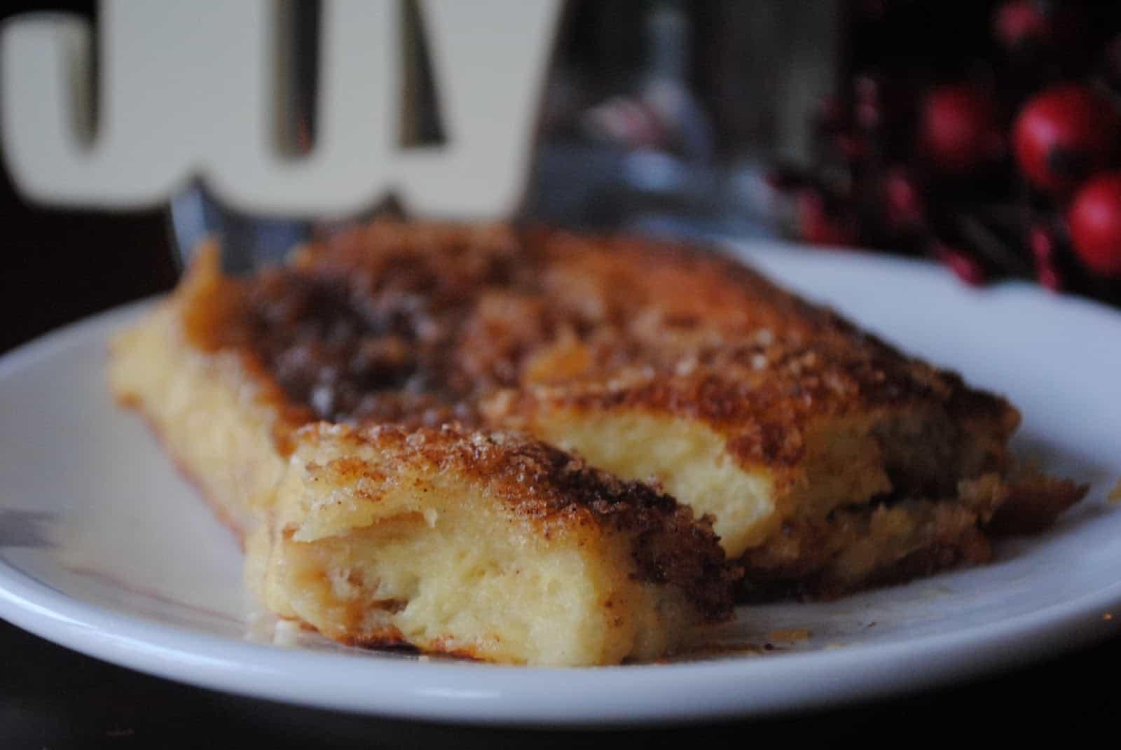 Eggnog French Toast - Shugary Sweets