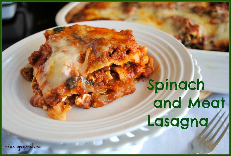 Three Meat Lasagna Recipe — Dishmaps
