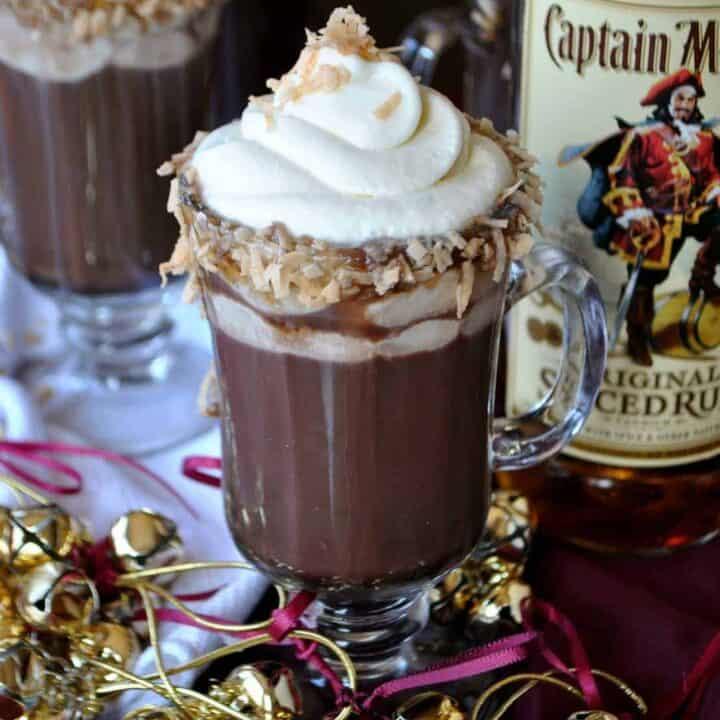 Hot Chocolate Pina Colada