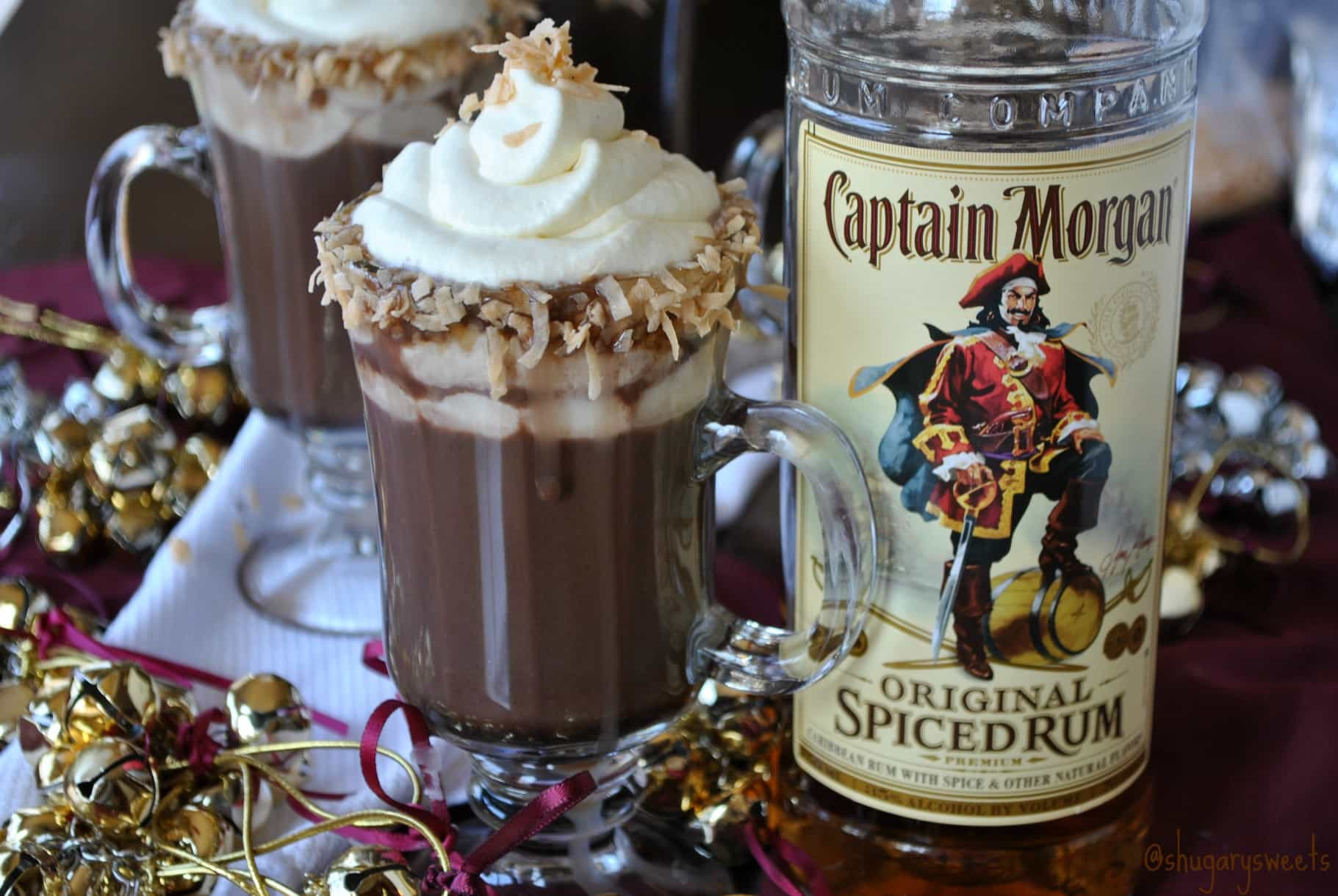 Spice Up The Holidays with a Hot Choc-Colada - Shugary Sweets