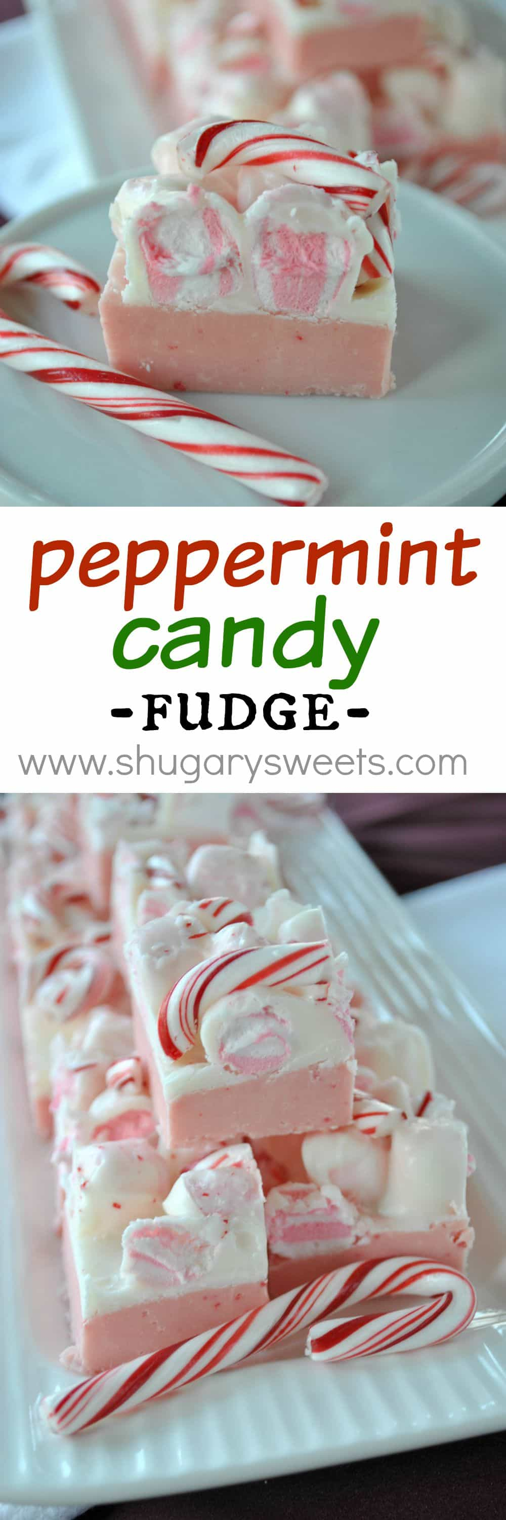 Peppermint Fudge : sweet layers of fudge with peppermint marshmallow ...