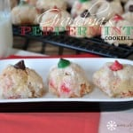 Grandma's Peppermint Puff Cookies
