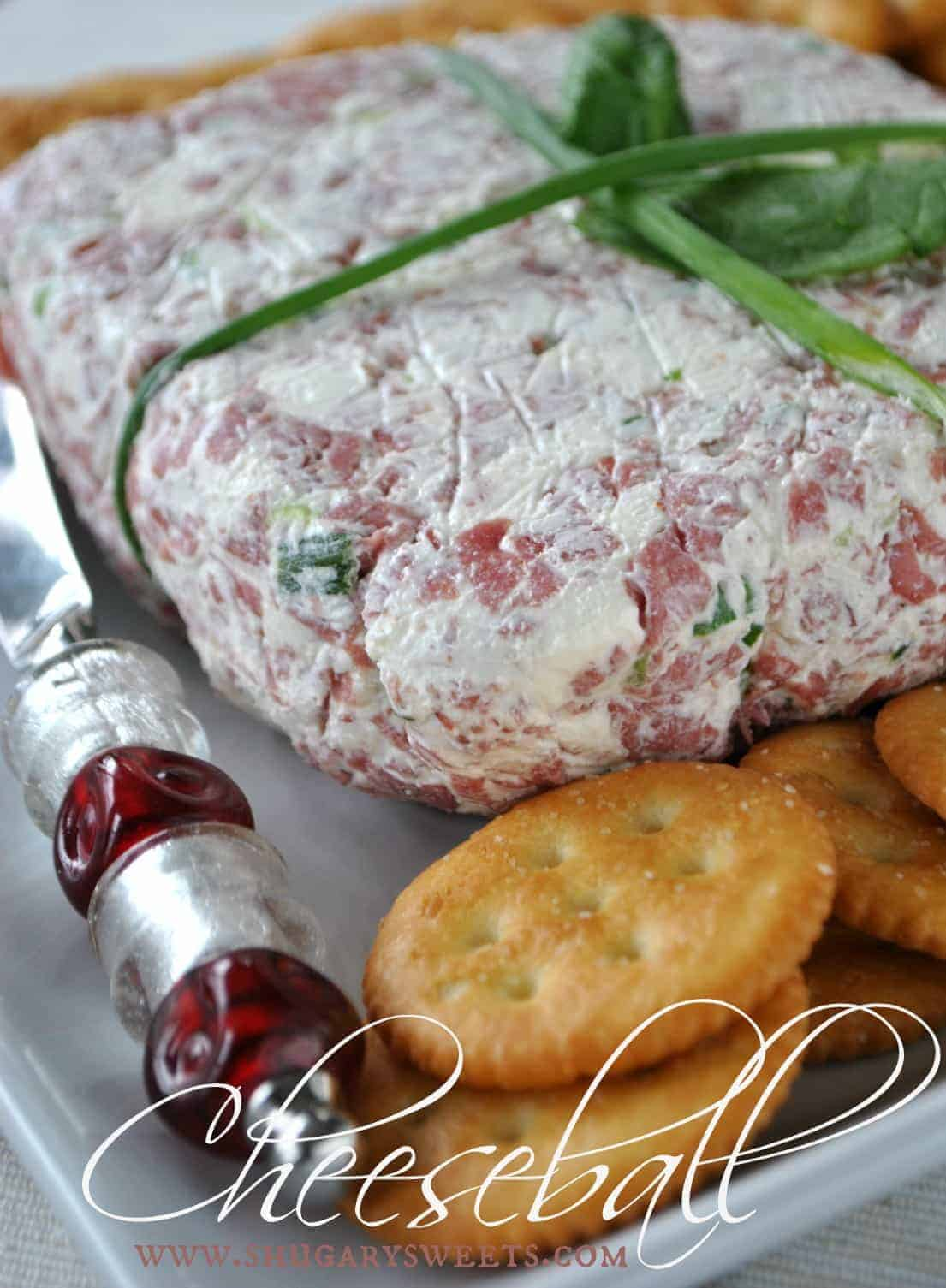 Easy chipped beef cheese ball recipe